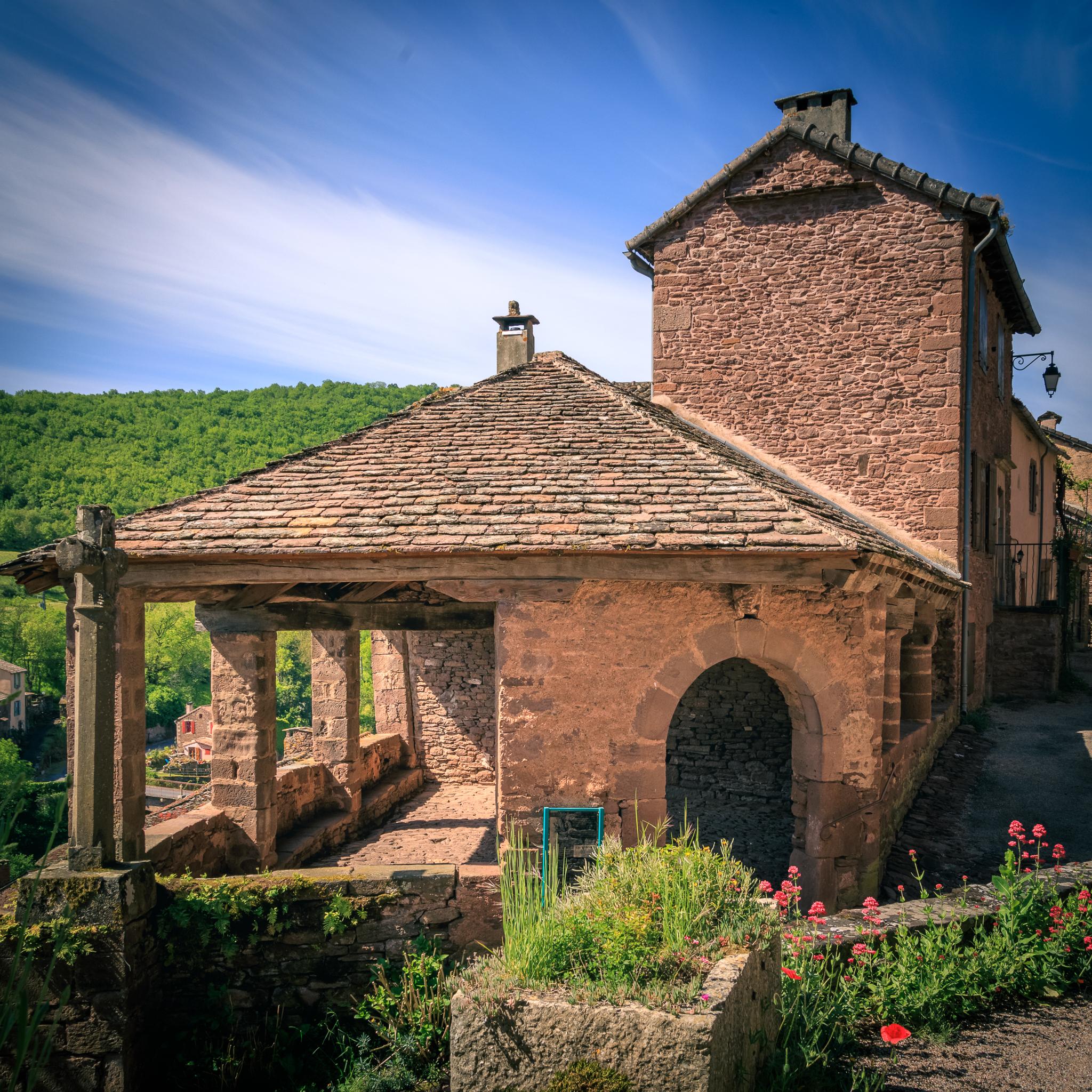 Halle de justice médiévale